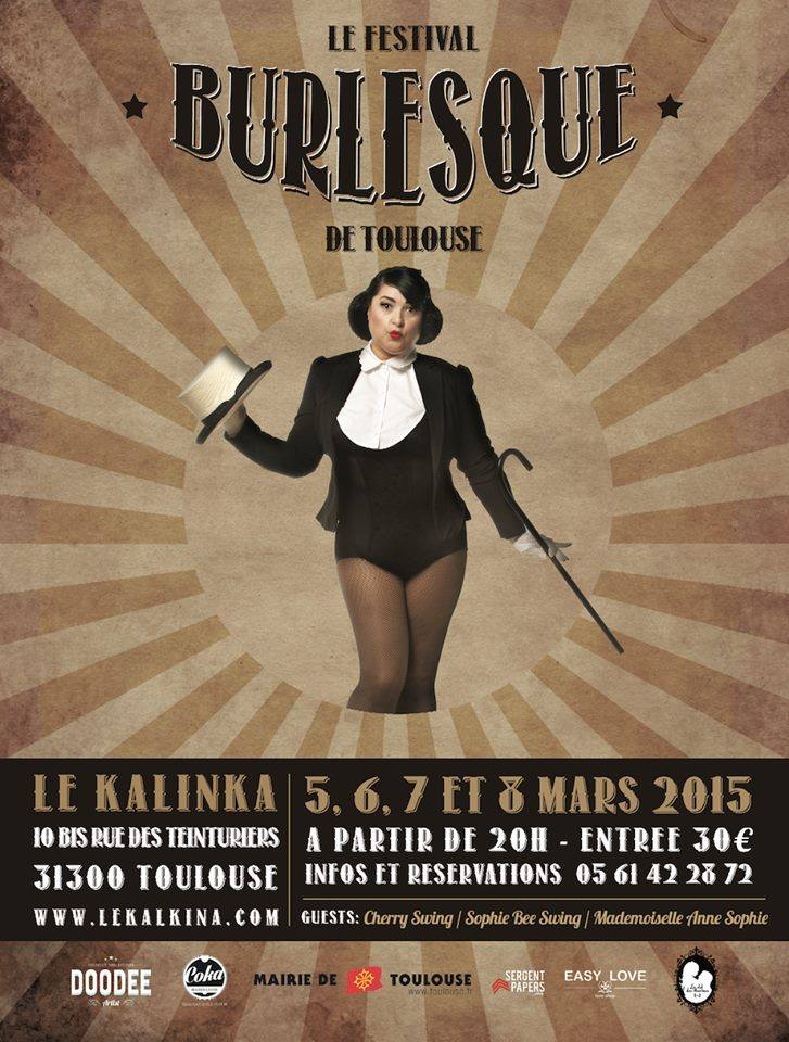 effeuillage burlesque toulouse