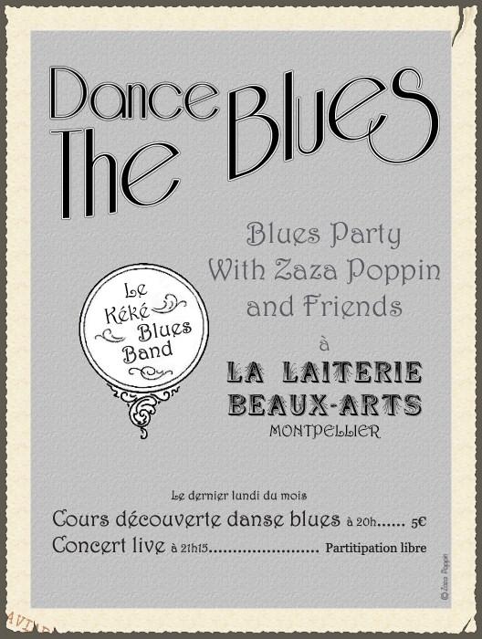 Blues party Zaza Poppin et le Kéké Blues Band