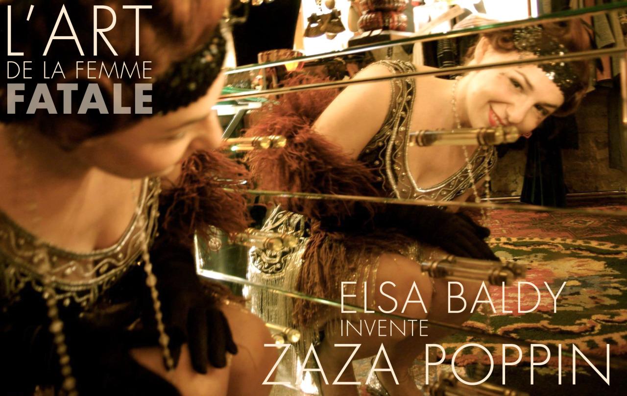 Zaza Poppin à l'heure bleu Tango libre
